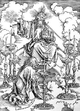 The Vision of The Seven Candlesticks from the ''Apocalypse'' or ''The Revelations of St. John the Di