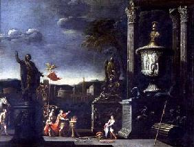 View with a Scene of a Sacrifice