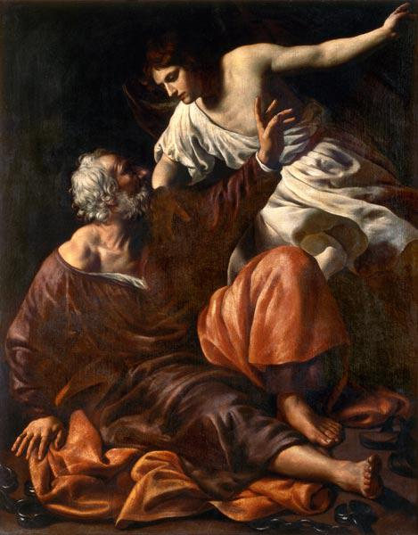 The Liberation of St. Peter 17. Jh