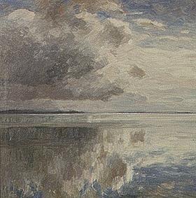 Kunstdruck von Alexander Koester - Ruhige See