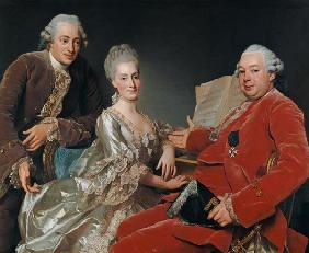 John Jennings Esq. and His Brother and Sister-in-Law 1769