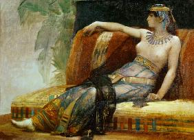 Kunstdruck von Alexandre Cabanel - Cleopatra (69-30 BC), preparatory study for 'Cleopatra Testing Poisons on the Condemned Prisoners'
