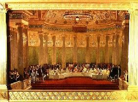 The Banquet for the Marriage of Napoleon Bonaparte (1769-1821) and Marie-Louise de Habsbourg-Lorrain
