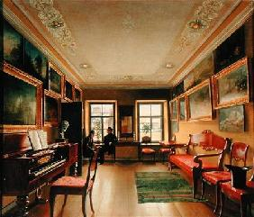 Interior of a Manor House 1830s