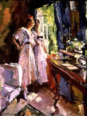 At the Open Window 1916