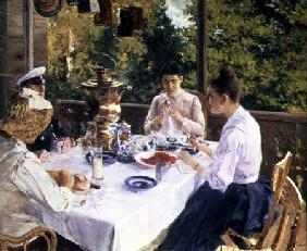 At the Tea-Table 1888