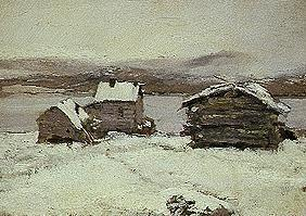 Winter in Lappland. 1894