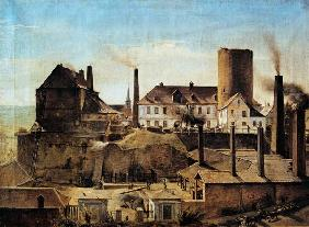 The Harkort Factory at Burg Wetter c.1834