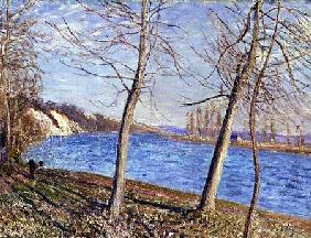 The Banks of the River at Veneux 1881