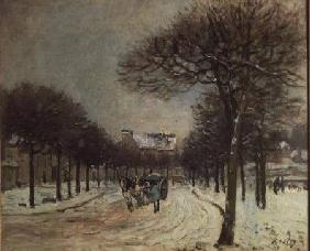 The Road to Saint-Germain at Marly 1874-5