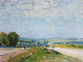 The Road to Montbuisson at Louveciennes 1875