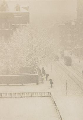 Snapshot, From My Window, New York 1907