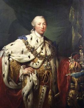 Portrait of George III (1738-1820) in his Coronation Robes c.1760