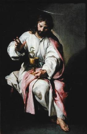 St. John the Evangelist and the Poisoned Cup 1636-38