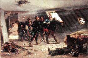 Episode from the Franco-Prussian War 1875