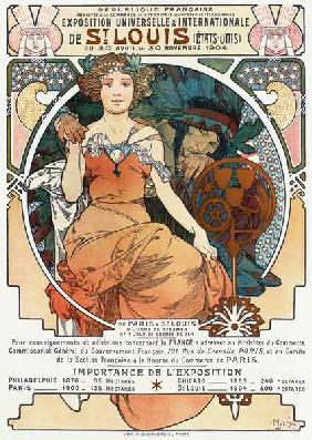 Mucha, Alphonse - Poster for the Universal a...