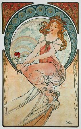 Mucha, Alphonse - The Arts: Painting