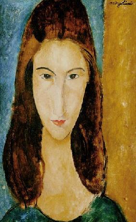 Kunstdruck von Amadeo Modigliani - Jeanne Hebuterne