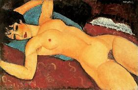 Kunstdruck von Amadeo Modigliani - Akt