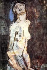 Kunstdruck von Amadeo Modigliani - Akt - nudo dolente