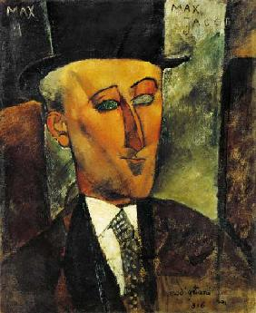 Kunstdruck von Amadeo Modigliani - Bildnis Max Jacob.