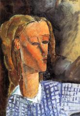 Kunstdruck von Amadeo Modigliani - Bildnis Beatrice Hastings