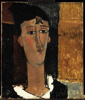 Kunstdruck von Amadeo Modigliani - Die Concierge