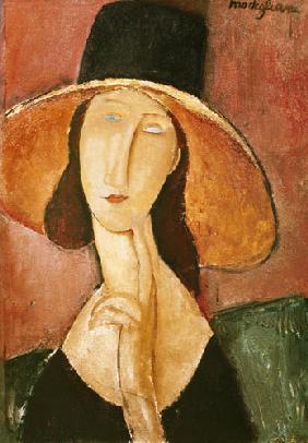 Kunstdruck von Amadeo Modigliani - Jeanne Hébuterne