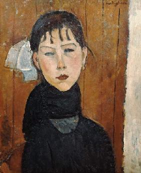 Kunstdruck von Amadeo Modigliani - La petite Marie