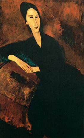 Kunstdruck von Amadeo Modigliani - Bildnis Anna Zborowska