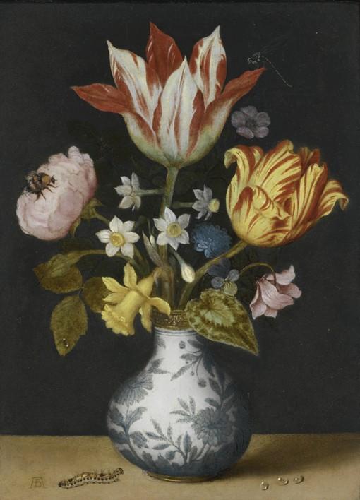 Stillleben Mit Blumen In Wanli Vase Ambrosius Bosschaert Als