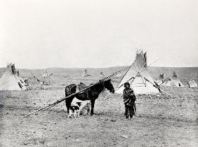 Comanche Indian (b/w photo) 0532
