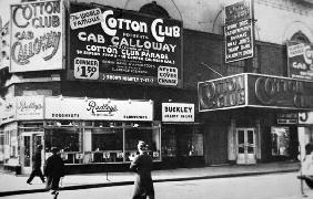 The Cotton Club in Harlem, New York City, c.1930 (b/w photo) 1894