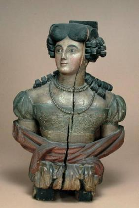 Figurehead of a young lady 2nd quarte
