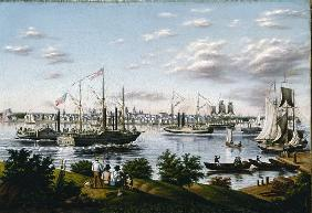 View of Detroit in 1836