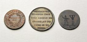 Anti-Slavery Coins and Medal (metal) (obverse) (for reverse see 187697) 19th