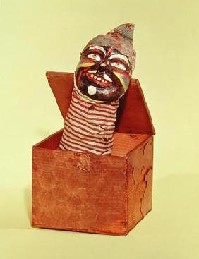 Jack-in-the-box, c.1870-1900 (mixed media) 1897