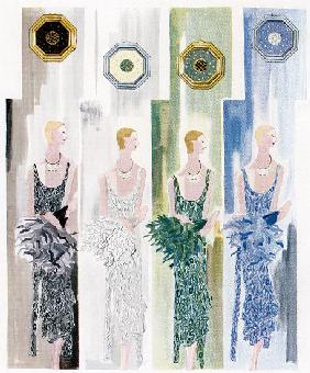 Four Flappers 1930
