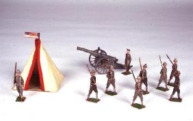 Toy Soldiers, c.1920 (metal) 16th