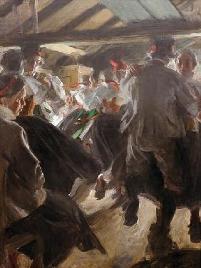 Anders Zorn / Dance in Gopsmoorkate