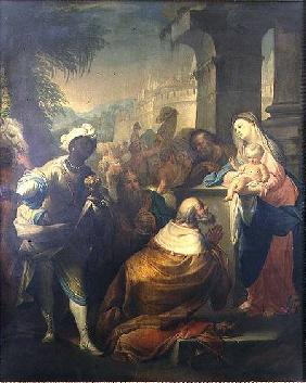 The Adoration of the Magi c.1750