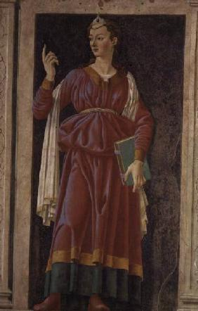The Cuman Sibyl, from the Villa Carducci series of famous men and women c.1450