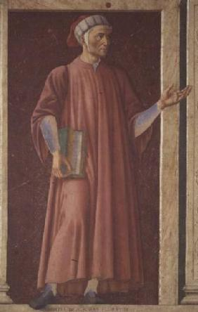 Dante Alighieri (1265-1321) from the Villa Carducci series of famous men and women c.1450