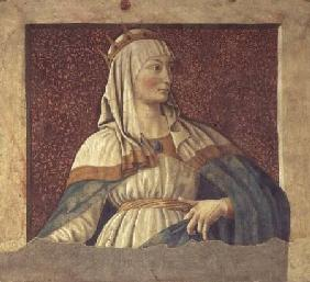 Queen Esther, from the Villa Carducci series of famous men and women c.1450