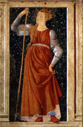 Queen Tomyris, from the Villa Carducci series of famous men and women c.1450
