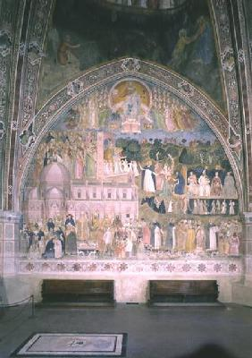 The Church Militant and Triumphant, in the Spanish Chapel c.1369