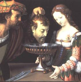 Salome with the head of John the Baptist 1520/24