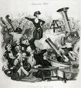 A Concert of Hector Berlioz (1803-69) in 1846