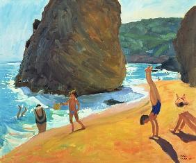 Morning, Platja dos Rosais, Costa Brava, 1997 (oil on canvas)