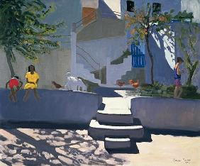 The Yellow Dress, Kos, 1993 (oil on canvas)